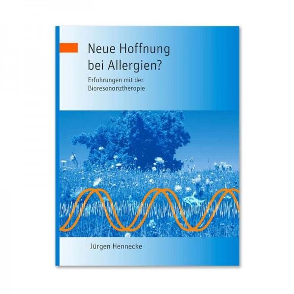 """Buchcover """"Neue Hoffnung bei Allergien?"""""""