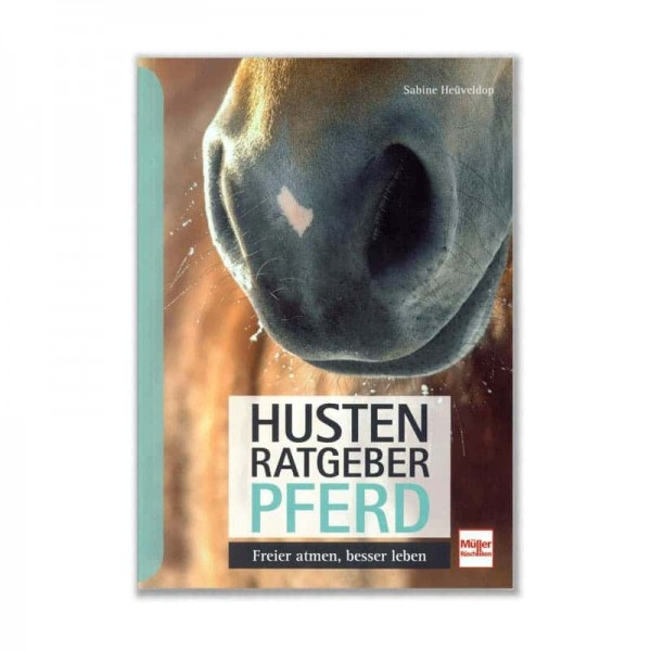 """Buchcover """"Husten Ratgeber Pferd"""""""